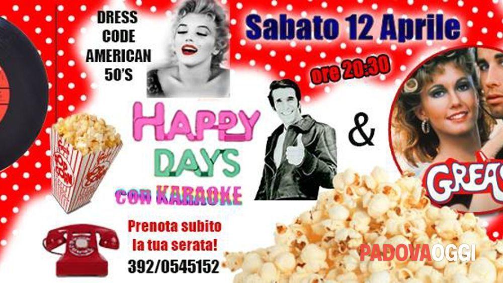 Estremamente Festa American 50's - Happy days & Grease al Pegaso Eventi a Padova QD05