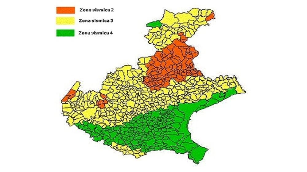 Cartina Zone Sismiche Italia.Ordine Degli Ingegneri Ci Sono 72 Comuni Padovani Da Riclassificare In Zona Sismica 3