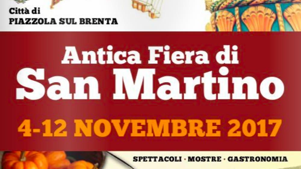 Antica fiera di san martino a piazzola dal 4 al 12 for Fiera piazzola sul brenta 2017
