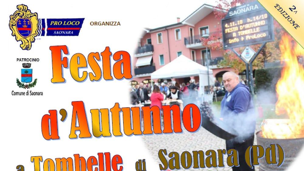 Festa d'autunno a Tombelle di Saonara il 3 novembre 2019 Eventi a Padova - PadovaOggi