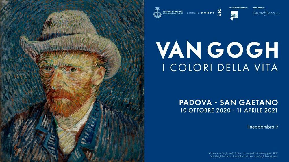 """Van Gogh. I colori della vita"""", mostra al Centro culturale San Gaetano dal 10 ottobre 2020 all'11aprile 2021 Eventi a Padova"""