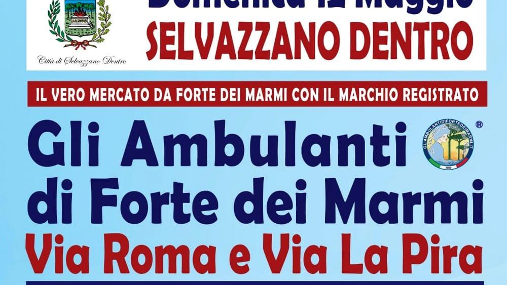 Gli Ambulanti Di Forte Dei Marmi Calendario 2020.Mercato Forte Dei Marmi A Selvazzano Dentro Il 12 Maggio