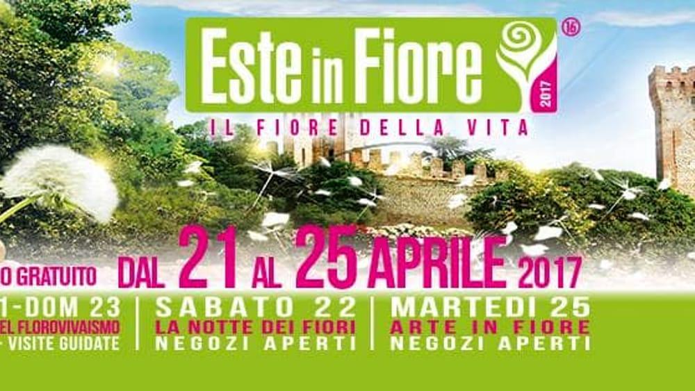 Este in fiore 2017 il 21 22 23 aprile eventi a padova for Fiera piazzola sul brenta 2017