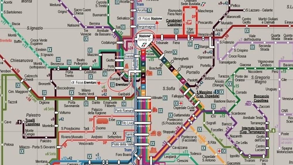 Cartina Autobus Londra.Padova Come Londra Le Nuove Mappe Del Trasporto Pubblico Urbano Ed Extraurbano