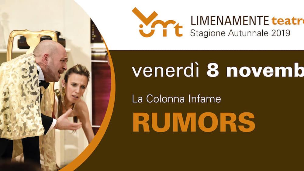 """""""Limenamente autunno"""" con lo spettacolo """"Rumors"""" a Limena - PadovaOggi"""
