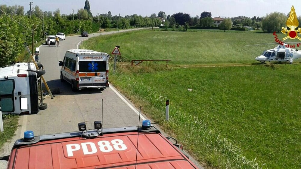 Incidente stradale a piazzola sul brenta in via sega 26 for Fiera piazzola sul brenta 2017