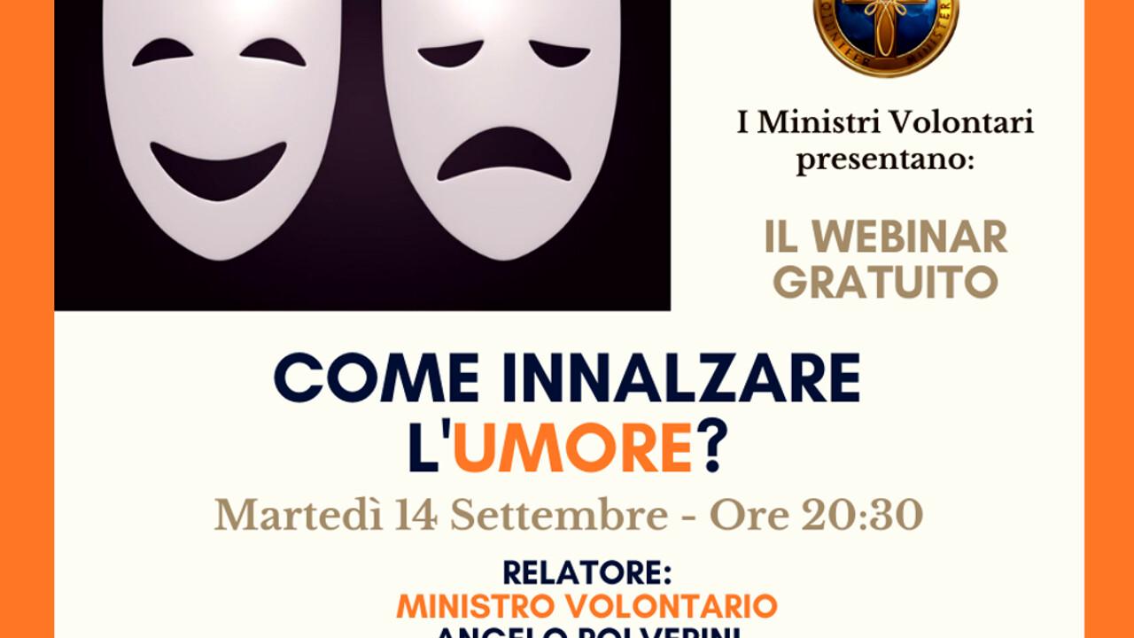 """Webinar gratuito: """"Come innalzare l'umore?"""" il 14 settembre 2021 Eventi a  Padova"""