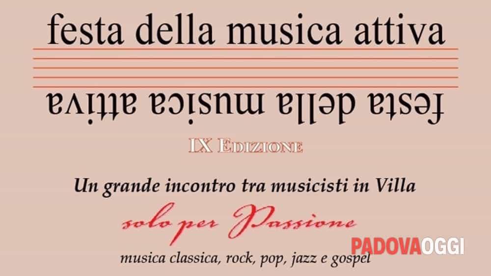 Ix festa della musica attiva a villa contarini il 20 e 21 for Fiera piazzola sul brenta 2017