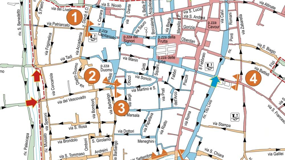 Ztl Firenze Cartina.Disegnata La Nuova Mappa Della Ztl Da Fine Anno Si Parte