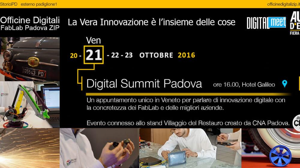 Digital Meet: Officine Zip FabLab porta a Padova il top