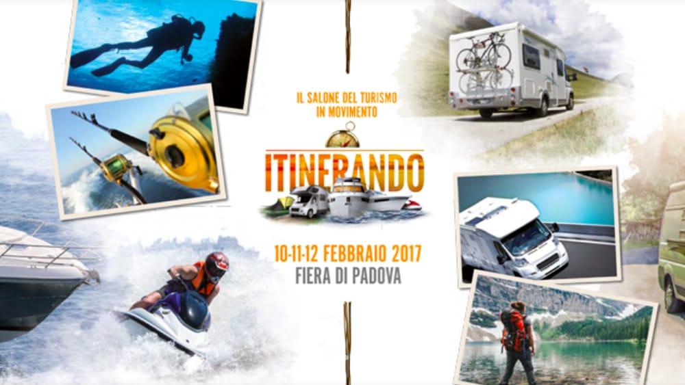 Itinerando show turismo e sport acquatici alla fiera di for Fiera piazzola sul brenta 2017