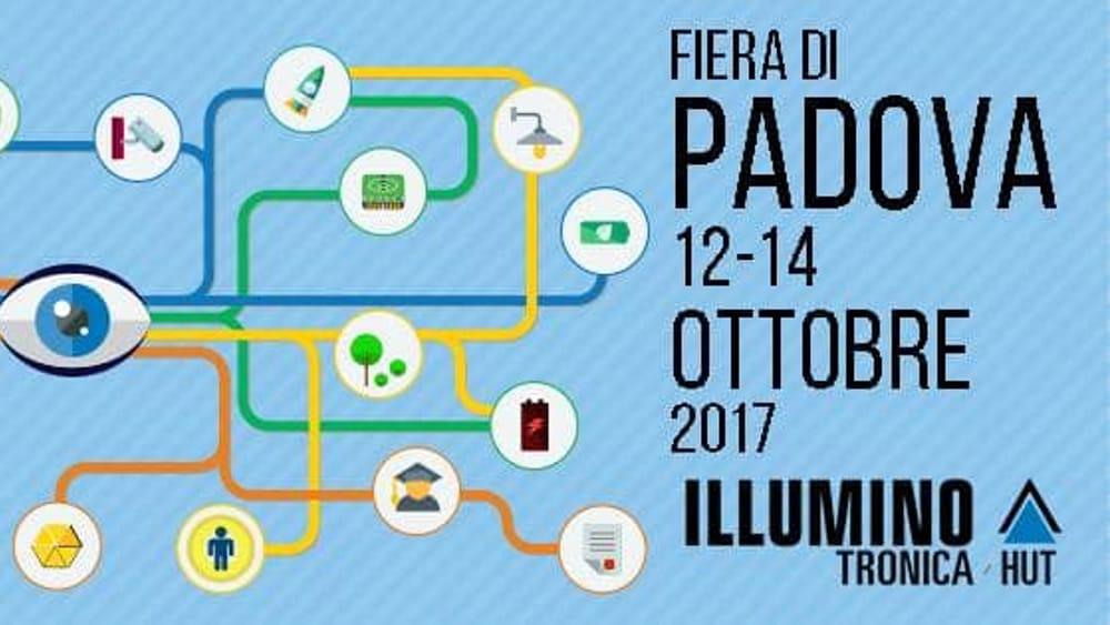Illuminotronica alla fiera di padova dal 12 al 14 ottobre for Fiera piazzola sul brenta 2017