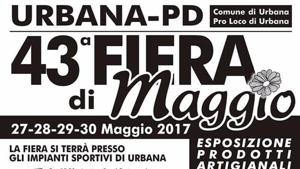 Fiera di maggio a urbana dal 27 al 30 maggio 2017 eventi a for Fiera piazzola sul brenta 2017