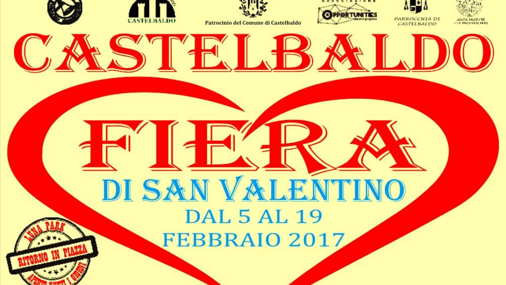 Fiera di san valentino a castelbaldo dal 5 al 19 febbraio for Fiera piazzola sul brenta 2017